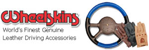 Leather Steering Wheel Covers - Wheelskins