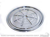 1967-70 Mustang Chrome HiPo Air Cleaner Lid C7ZZ-9661-A