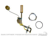 "1964-68 Mustang 3/8"" Fuel Sending Unit With Brass Float C8ZZ-9275-BR"