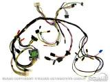 1969 Mustang Under Dash Wiring Harness w/Tach C9ZZ-14401-TACH