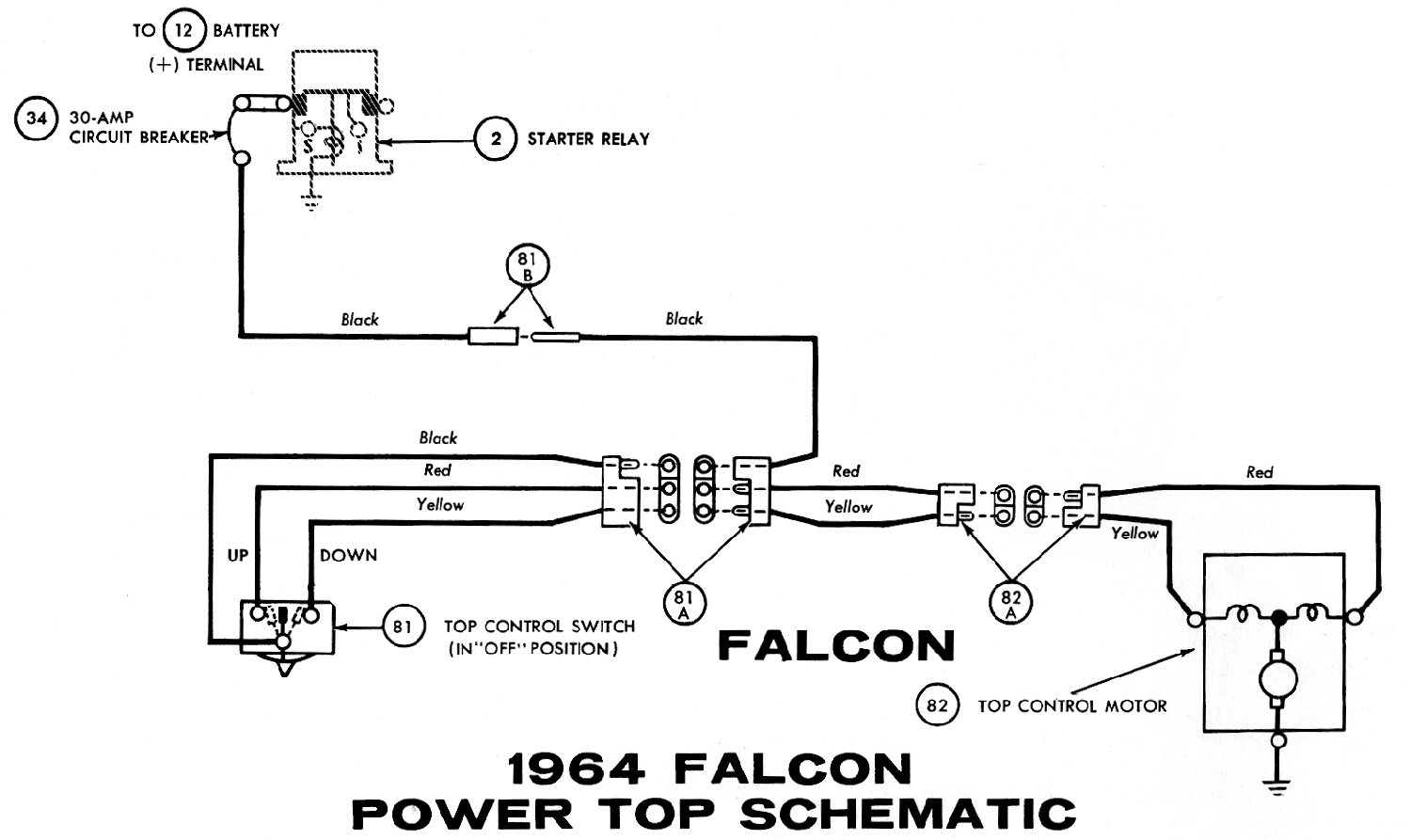1964o 1964 mustang wiring diagrams average joe restoration 1964 falcon wiring diagram at nearapp.co