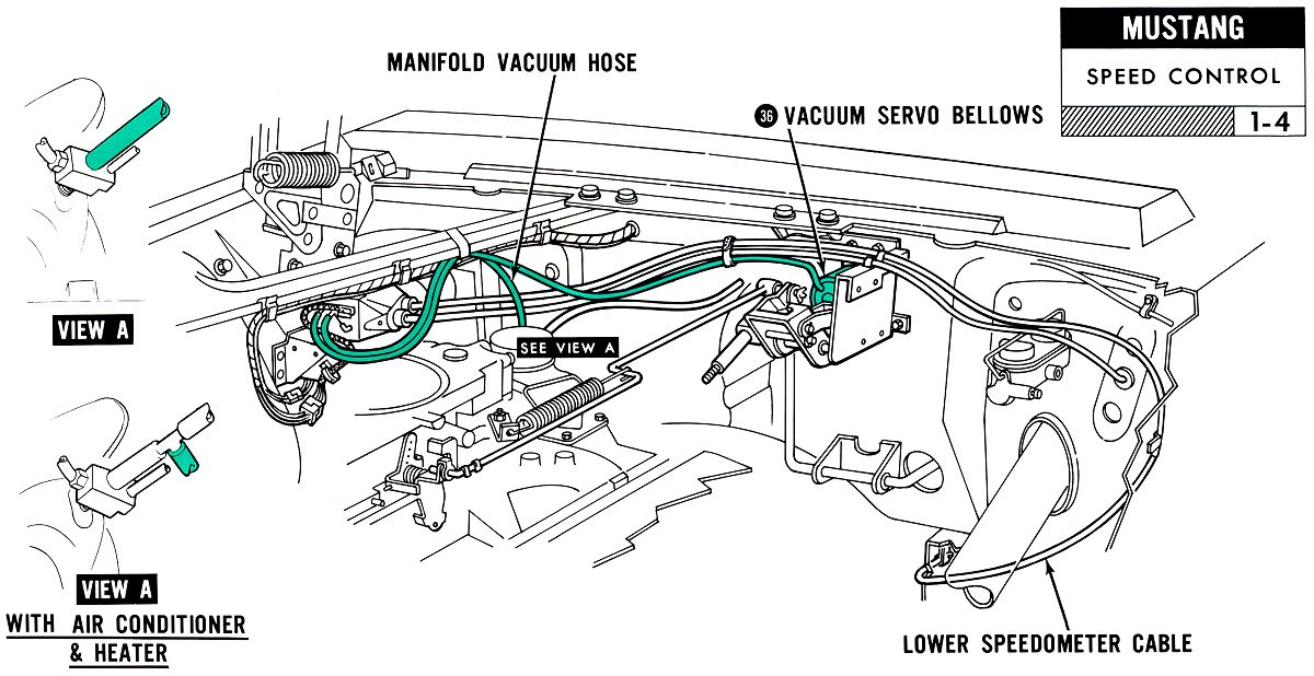 1967 Mustang Wiring And Vacuum Diagrams on ford heater fan motor