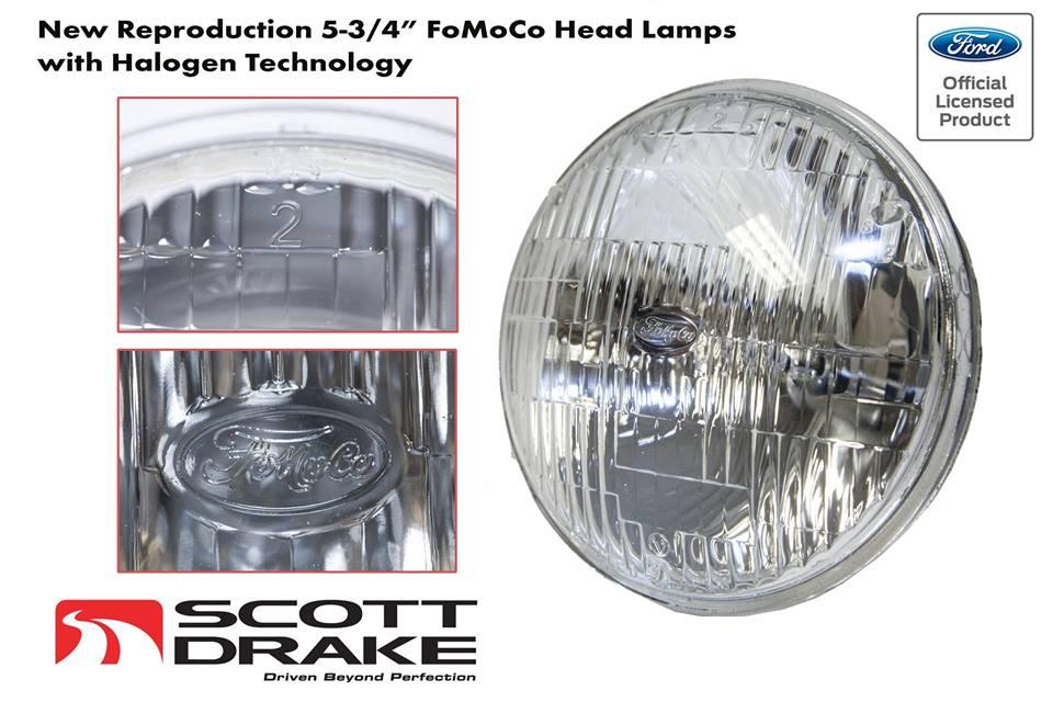 1969 mustang halogen head lamps u2013new from scott drake