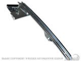 1967-68 Mustang Right Rear Door Glass Guide C7ZZ-65222A36-R
